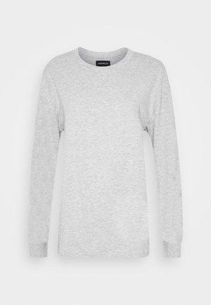 Long sleeved top - light grey
