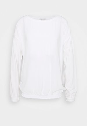 BUBBLE TEE - Blouse - off white