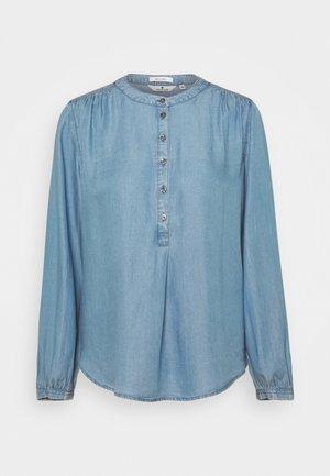 BLOUSE LOOK - Blouse - blue denim