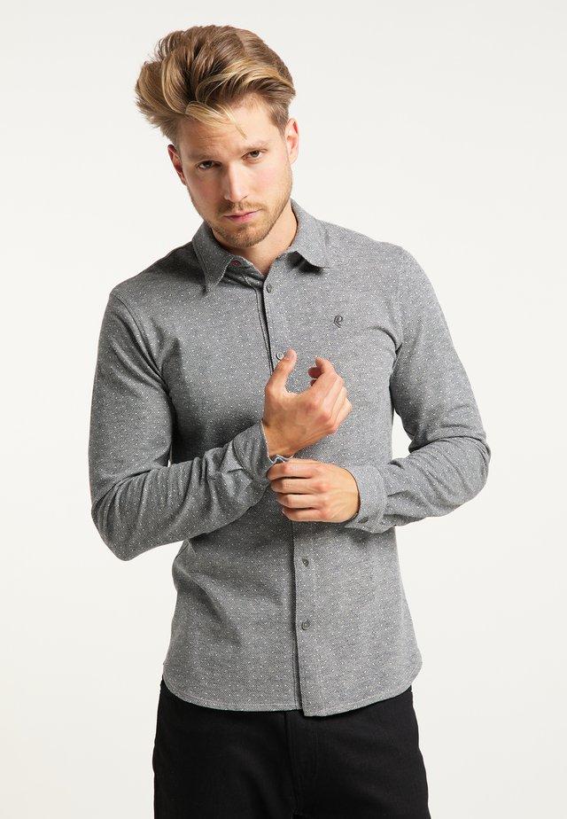 Koszula - light grey melee