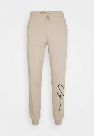 JORSCRIPTT PANTS  - Tracksuit bottoms - crockery