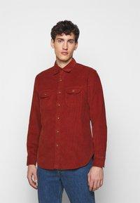 J.CREW - Shirt - burnt sienna - 0