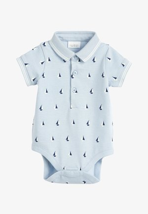 BLUE/WHITE 2 PACK BOAT POLO BODYSUITS (0MTHS-3YRS) - Polo shirt - blue