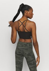 Cotton On Body - CROP - Light support sports bra - black - 2