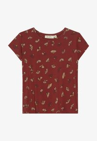 Soft Gallery - PILOU - Camiseta estampada - burnt brick - 2