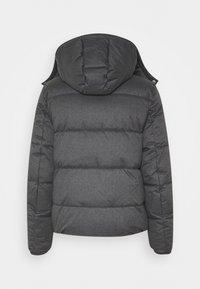 Calvin Klein - QUILTED HOODED JACKET - Winter jacket - grey - 1