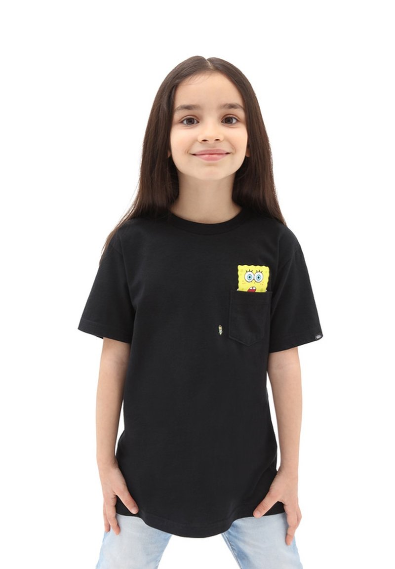 Vans - BY VANS X SPONGEBOB  SPOTLIGHT KIDS PCKT - Print T-shirt - spongebob spotlight
