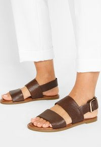 Inuovo - Sandals - mntrl brown nbr - 0