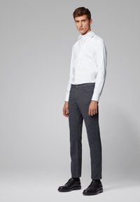 BOSS - MAINE - Straight leg jeans - grey - 1