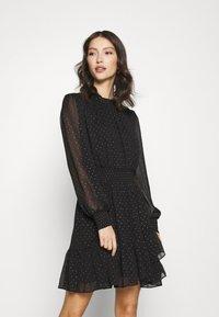 Forever New - CALLIE SKATER MINI DRESS - Day dress - black - 0