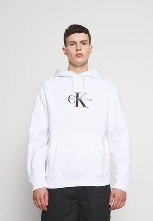 ARCHIVAL MONOGRAM HOODIE UNISEX - Sweatshirt - bright white/black olive