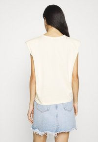 Gina Tricot - FRAN TANK - T-shirts med print - cloud - 2