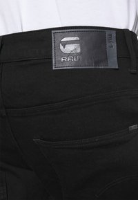 G-Star - ARC SLIM - Slim fit jeans - nero black stretch denim - pitch black - 3