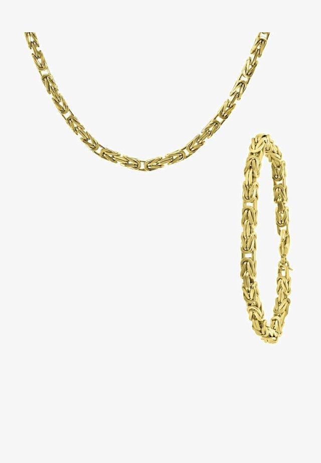 CADEAUSET KONINGSSCHAKEL - Necklace - goud