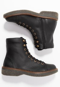 El Naturalista - VOLCANO - Lace-up ankle boots - black - 3
