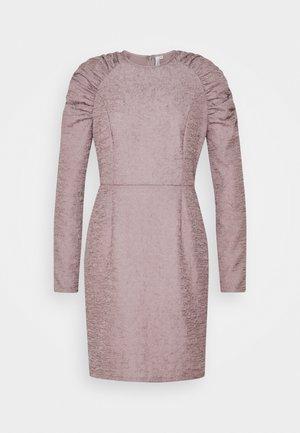 PUFFY SLEEVE DRESS - Robe fourreau - grey