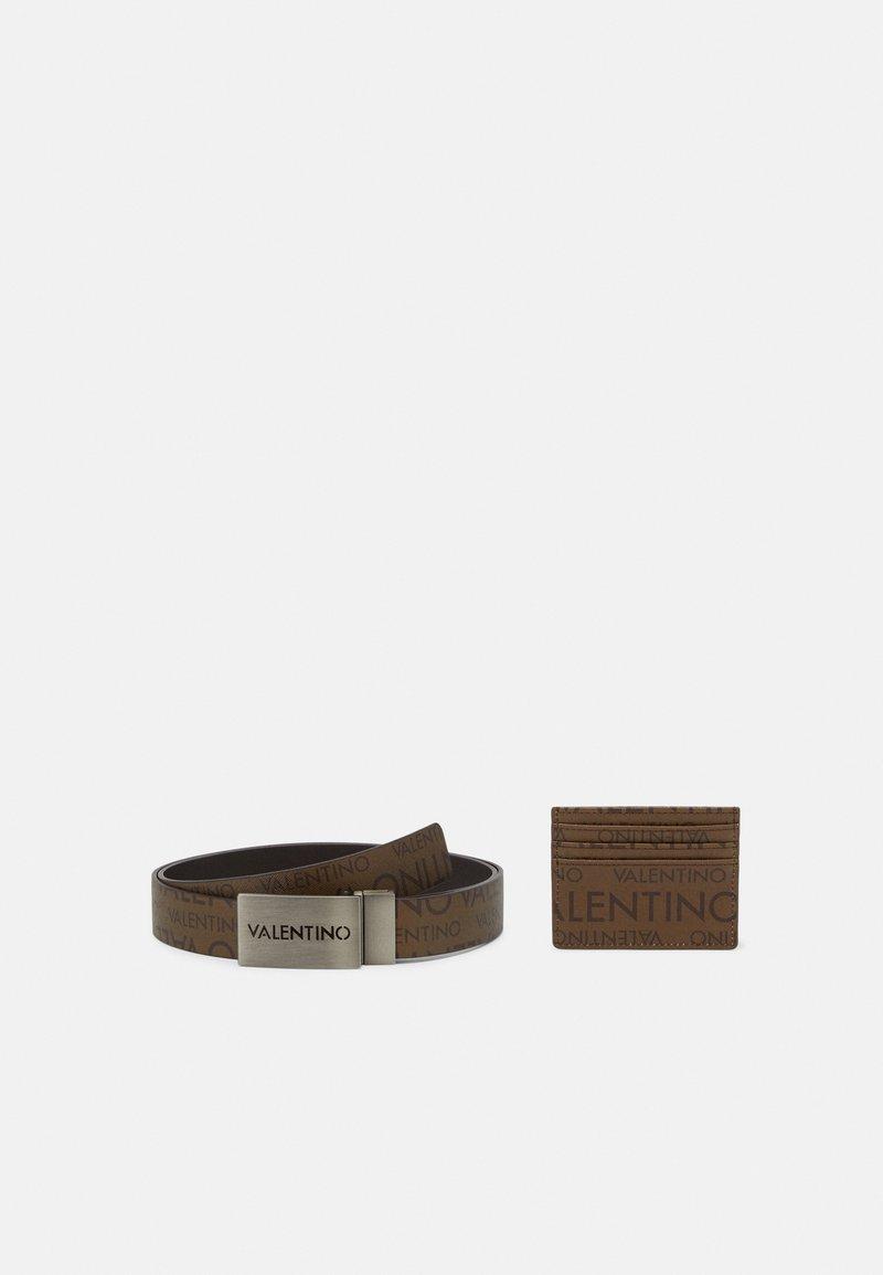 Valentino Bags - TIRO SET - Belt - moro