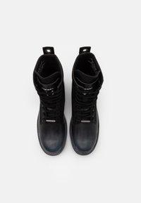 Diesel - THROUPER D-THROUPER DBBZ BOOTS - Lace-up ankle boots - black - 3