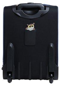 pick & PACK - OWL - Wheeled suitcase - blue - 1