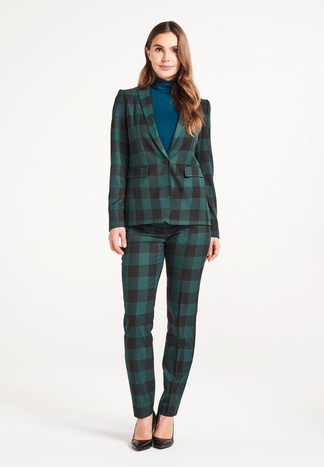 FALLON  - Blazer - check green