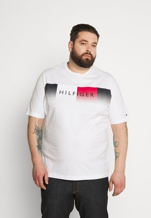 COOL FADE TEE - Print T-shirt - white
