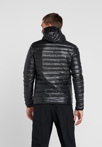 adidas Performance - VARILITE HOODED DOWN JACKET - Vinterjakker - black - 2