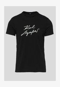 KARL LAGERFELD - Print T-shirt - black - 5