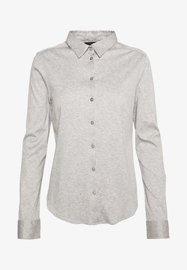 TINA - Overhemdblouse - light grey melange