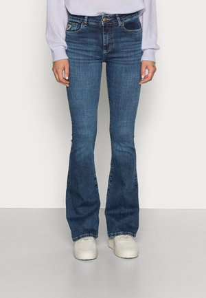RAVAL - Flared Jeans - cross stone
