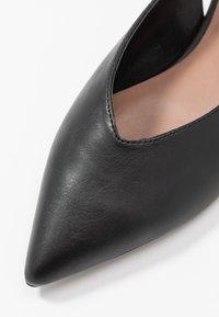 Matt & Nat - VEGAN EFFIE - Slingback ballet pumps - black - 2