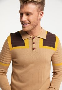 Mo - Polo shirt - multicolor kamel - 3