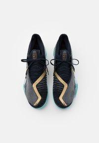 Nike Performance - COURT REACT VAPOR NXT - Tennissko til multicourt - dark obsidian/metallic gold - 3