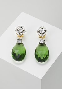 EARRINGS - Øredobber - green