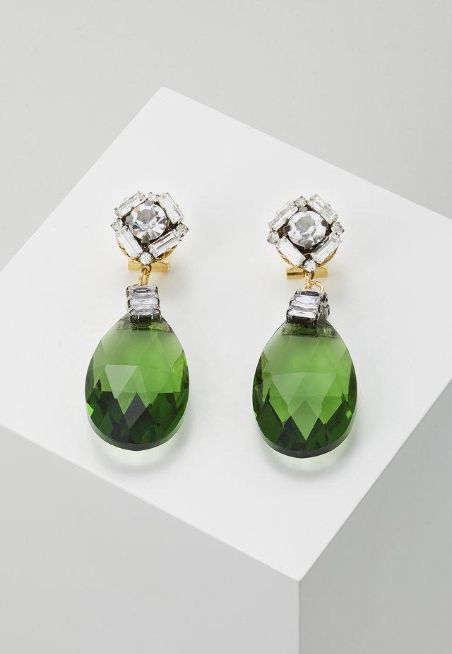 Øreringe - green