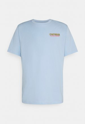 FLOWER SHOPPE SHORT SLEEVE TEE - T-shirt print - chambray blue