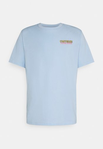 FLOWER SHOPPE SHORT SLEEVE TEE - Camiseta estampada - chambray blue