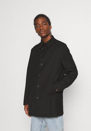 SLHDRAPER COAT - Halflange jas - black
