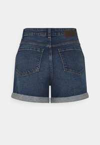 PIECES Tall - PCPACY  - Denim shorts - medium blue denim - 1
