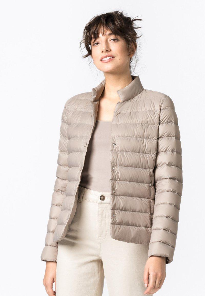 HALLHUBER - Down jacket - kitt