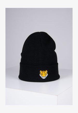 TIGER - Bonnet - schwarz