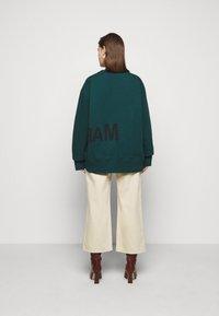 MM6 Maison Margiela - Sweatshirt - duck green - 2