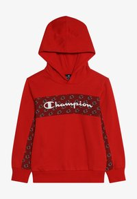 Champion - HOODED - Luvtröja - red - 2