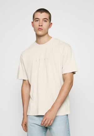 KATAKANA EMBROIDERY UNISEX  - Basic T-shirt - silver grey