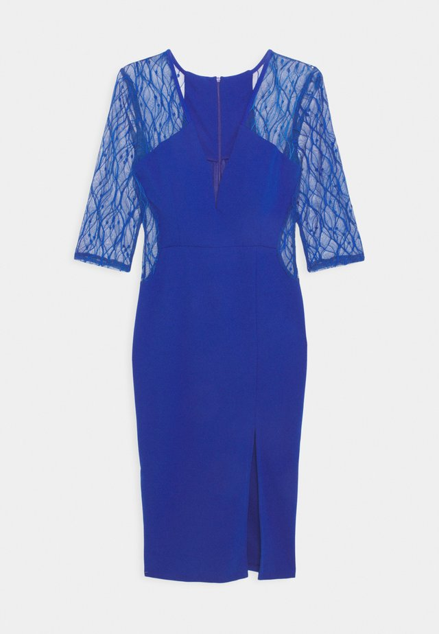 MAISIE SLEEVE MIDI DRESS - Cocktail dress / Party dress - electric blue