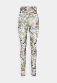 Moves - GYMLISA - Leggings - Trousers - lavender blue - 0