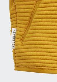 adidas Performance - Zip-up hoodie - leggld/silvmt - 3