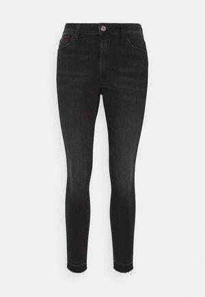 SYLVIA ANKLE - Jeans Skinny - black denim