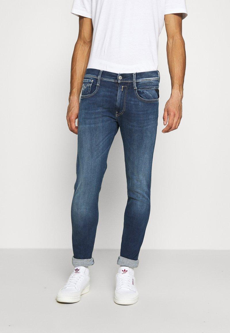 Replay - ANBASS HYPERFLEX RE-USED - Jeans slim fit - dark blue denim