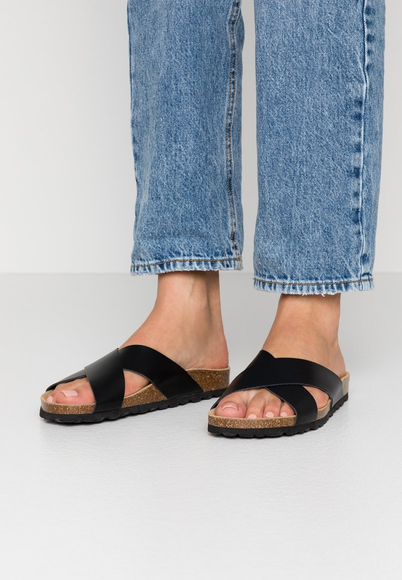 ONLY SHOES - ONLMADISON SLIP ON - Slippers - black