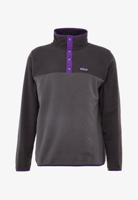 Patagonia - MICRO SNAP - Fleece jumper - forge grey - 4